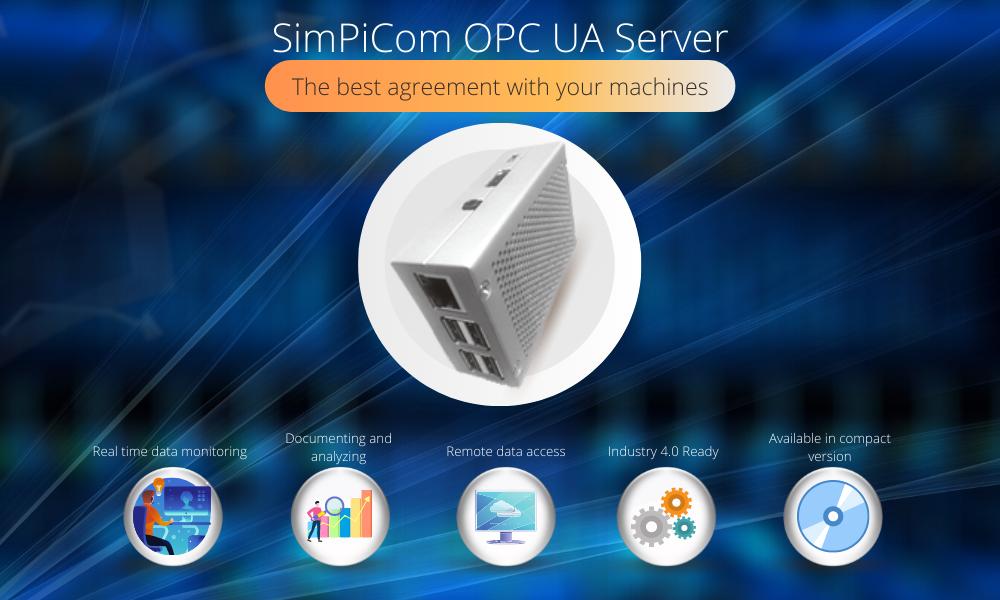 SimPiCom OPC UA Server